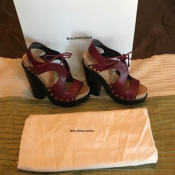 b89afc7df495 Balenciaga Shoes - Balenciaga Studded Platform Sandals